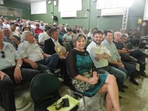 Prefeita participa do projeto Soja Brasil