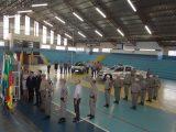 Prefeita Teodora participa da entrega da nova viatura à Brigada Militar