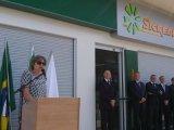 Prefeita prestigia Inauguração da nova Unidade de Atendimento do Sicredi