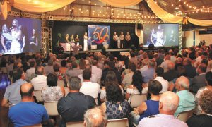Administração de Não-Me-Toque participa da comemoração dos 50 anos da Coprel