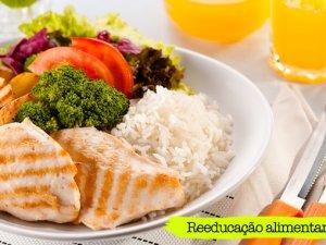 Reeducação alimentar, alimentação saudável por uma Vida Melhor!