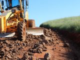 Secretaria de Obras revitaliza 10km de Estradas Rurais