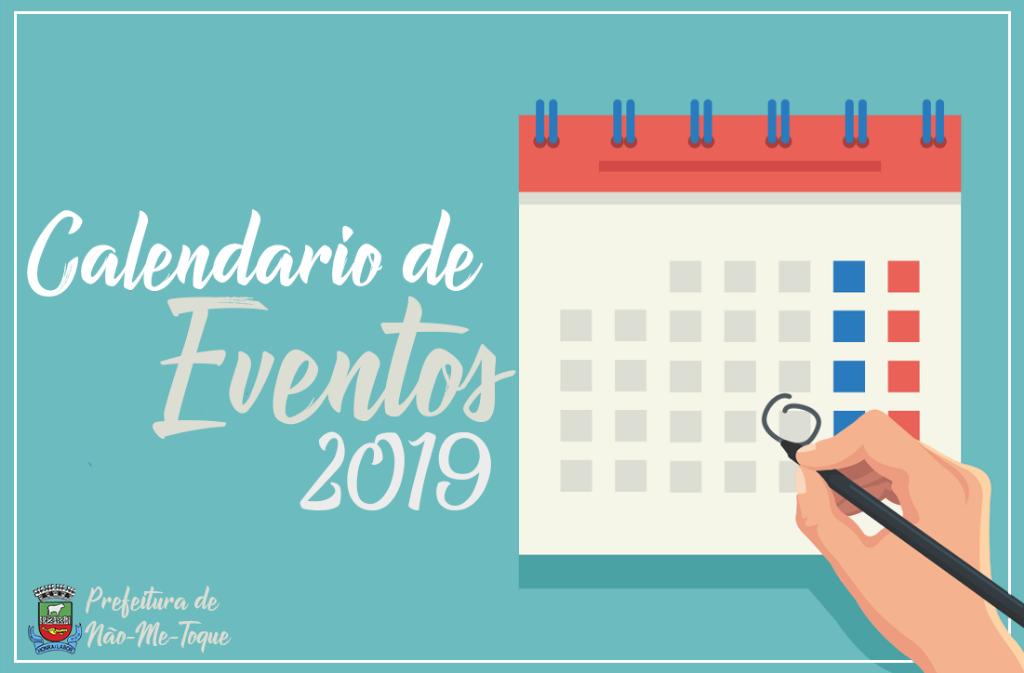 Calendario.Entidades Ja Podem Reservar Datas No Calendario De Eventos 2019