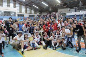 Agaf bicampeão do Campeonato Municipal de Futsal