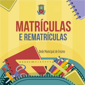 Matriculas das EMEF's Amália Kerber e Carlos Gomes serão 10 de Dezembro