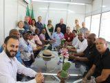 Prefeito Pedro Paulo recebe comitiva internacional durante a Expodireto