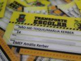 SME entrega novas Carteiras do Transporte Escolar