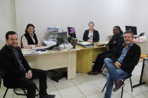 Secretaria de Habitação recebe equipe de Carazinho para troca de experiências