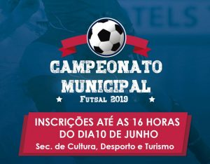 Últimos dias das inscrições para o Futsal 2019