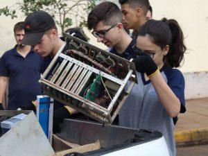 Coleta de Eletroeletrônicos recolhe 14 toneladas de Material