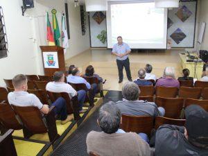 Administração apresenta projeto de Pavimentação para acessos do Município