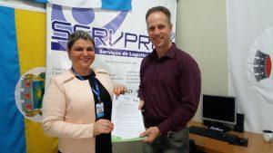 Município firma parceria com empresa SERVPREF através da Secretaria de Saúde