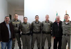 Efetivo da Brigada Militar recebe 4 novos Policiais
