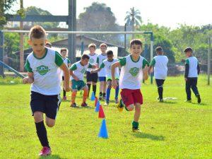 Projeto Escola Viva, mudando vidas através do Esporte