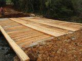 Secretaria de Obras conclui ponte provisória em Posse São Miguel