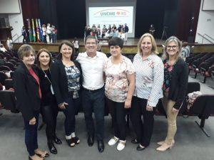 Presidente do Conselho Municipal de Educação é homenageado pela União Nacional dos Conselhos Municipais de Educação do RS