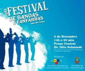 Domingo é dia de Festival de Bandas e Fanfarras